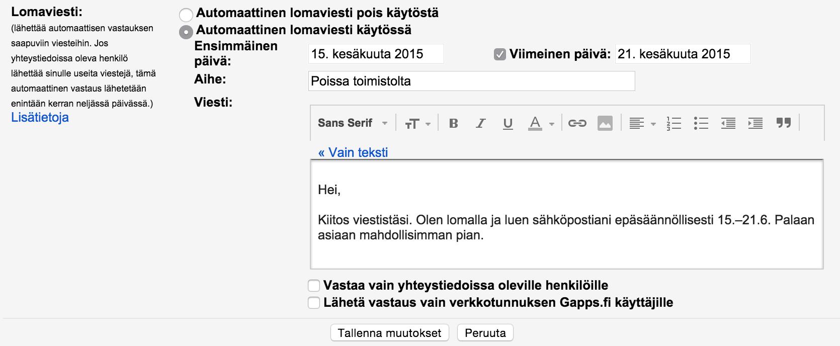google avoimet työpaikat Kajaani