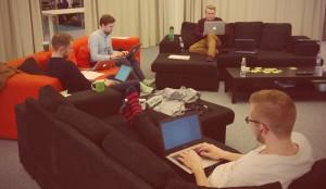 Blogitalkoot toimistolla 2015